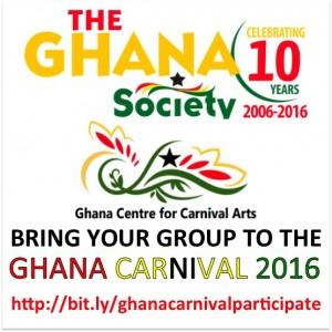 Participate in Ghana Carnival