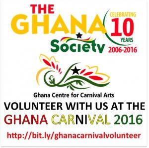 Volunteer in Ghana Carnival